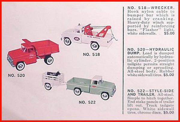 Tonka Toys Price guide and Identifications
